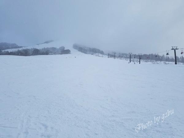 いわっぱらスキー場 ゲレンデ