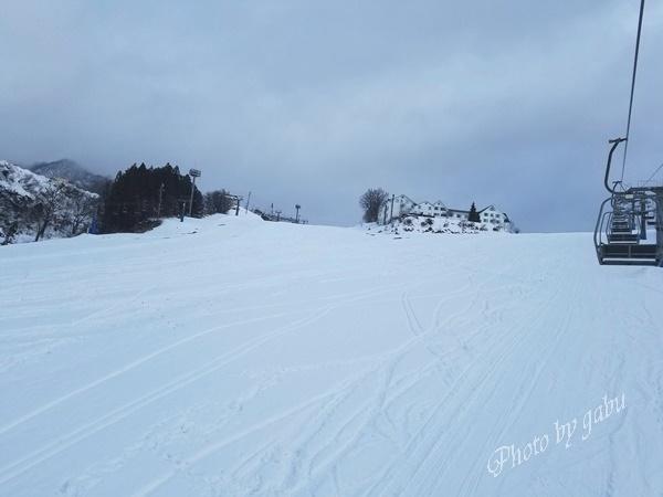 岩原スキー場 フロントコース