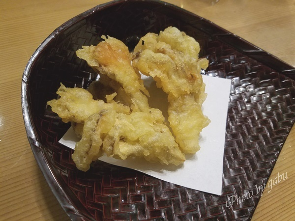 越後湯沢 舞茸天ぷら