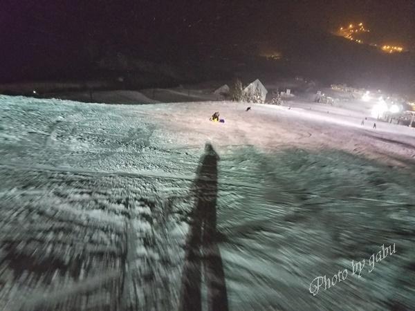 岩原スキー場のナイター