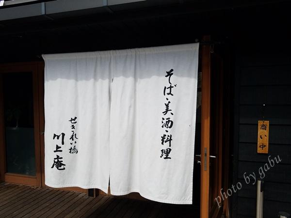 軽井沢 川上庵 ハルニレテラス