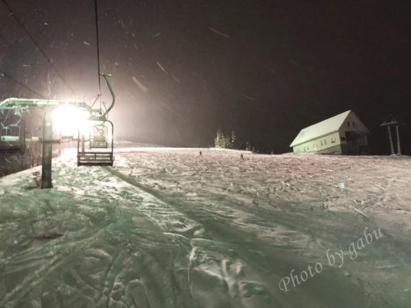 岩原スキー場 ナイターコース