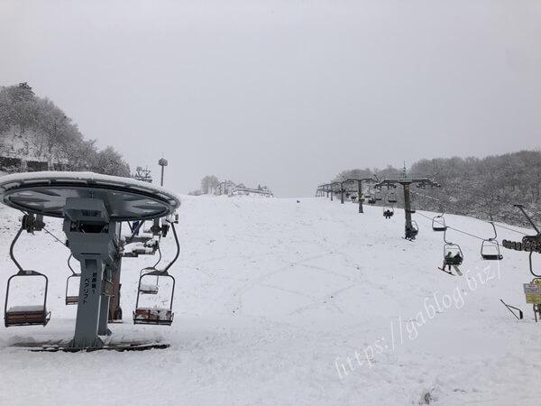 岩原スキー場 リゾートセンター1 リフト