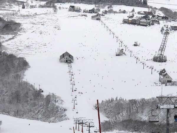 岩原スキー場 山頂