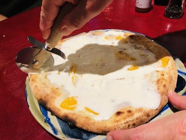 ピットーレ デザートピザ
